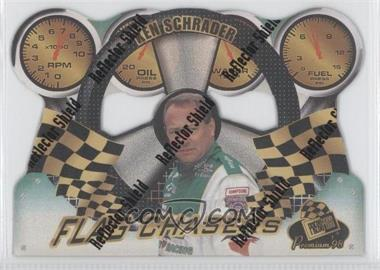1998 Press Pass Premium Flag Chasers Reflectors #FC 14 - Ken Schrader