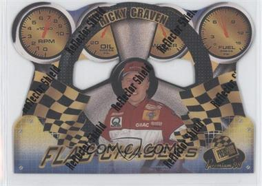 1998 Press Pass Premium Flag Chasers Reflectors #FC 17 - Ricky Craven