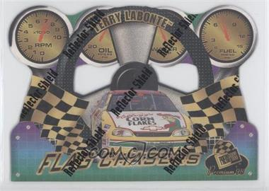 1998 Press Pass Premium Flag Chasers Reflectors #FC 21 - Terry Labonte