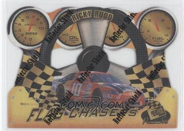 1998 Press Pass Premium Flag Chasers Reflectors #FC 22 - Ricky Rudd