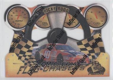 1998 Press Pass Premium Flag Chasers Reflectors #FC 22 - Ricky Rudd