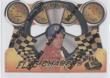 1998 Press Pass Premium Flag Chasers Reflectors #FC 7 - Ricky Rudd