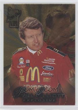 1998 Press Pass VIP - [Base] - Explosive #7 - Bill Elliott