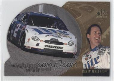1998 SP Authentic Behind the Wheel Gold Die-Cut #BW8 - Rusty Wallace /100
