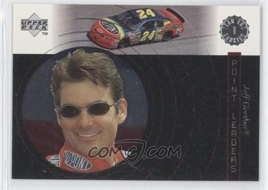 1998 Upper Deck Victory Circle Point Leaders #1 - Jeff Gordon