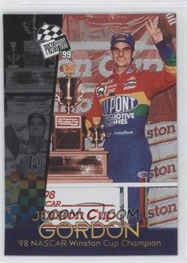 1999 Press Pass NASCAR Champion Card #0 - Jeff Gordon /800
