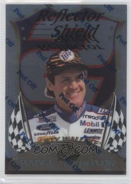 1999 Press Pass Premium Badge of Honor Reflectors #BH1 - Rusty Wallace /1350