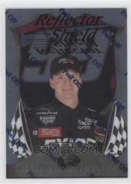 1999 Press Pass Premium Badge of Honor Reflectors #BH16 - Jeff Burton /1350