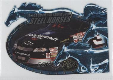 1999 Press Pass Premium Steel Horses #SH2 - Dale Earnhardt