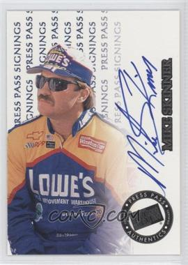 1999 Press Pass Signings #N/A - Mike Skinner /395