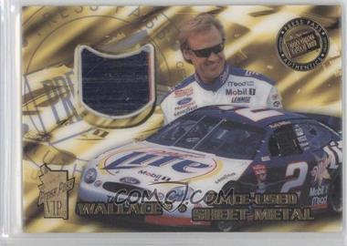 1999 Press Pass VIP - Race-Used Sheet Metal #SM 1 - Rusty Wallace