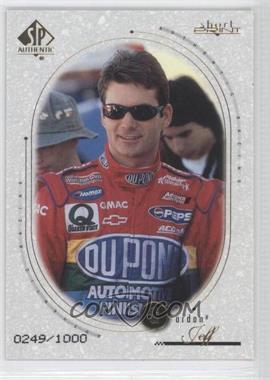 1999 SP Authentic [???] #82 - Jeff Gordon /1000