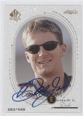 1999 SP Authentic [???] #83 - Dale Earnhardt Jr. /500