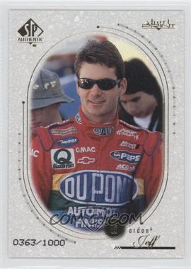 1999 SP Authentic #82 - Jeff Gordon /1000