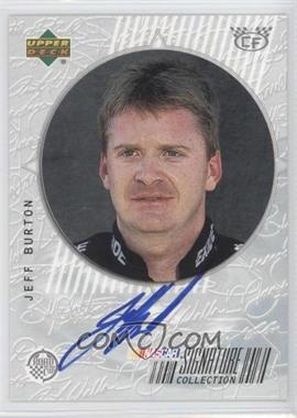 1999 Upper Deck Road to the Cup - Signature Collection - Checkered Flag #JB - Jeff Burton