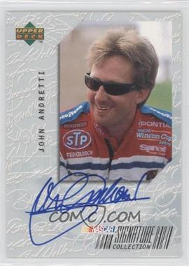 1999 Upper Deck Road to the Cup Signature Collection #JA - John Andretti