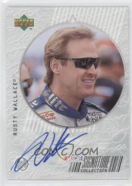 1999 Upper Deck Road to the Cup Signature Collection #RW - Rusty Wallace