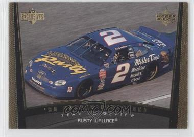 1999 Upper Deck Victory Circle UD Exclusives #81 - Rusty Wallace /99