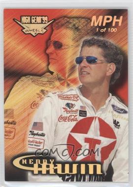 1999 Wheels High Gear - [Base] - MPH #24 - Kenny Irwin Jr. /100