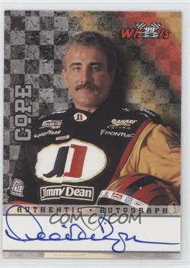 1999 Wheels High Gear Autographs #N/A - Derrike Cope /300