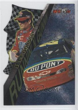 1999 Wheels Runnin' N Gunnin' Foil #RG 9 - Jeff Gordon