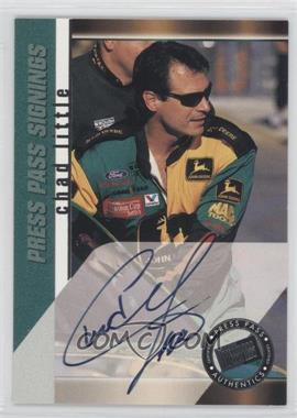 2000 Press Pass Signings #CHLI - Chad Little