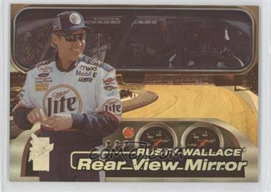 2000 Press Pass VIP - Rear View Mirror - Explosives #RV-2 - Rusty Wallace