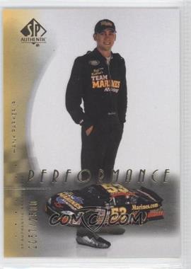 2000 SP Authentic #72 - Hank Parker Jr. /2500