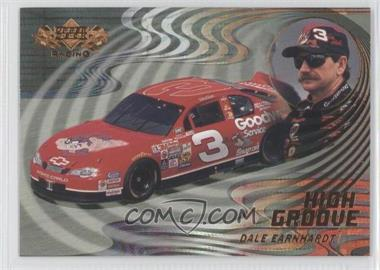 2000 Upper Deck High Groove #HG5 - Dale Earnhardt