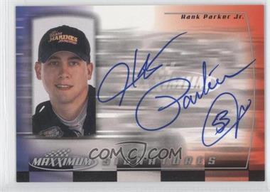 2000 Upper Deck Maxximum Signatures #HP - Hank Parker Jr.
