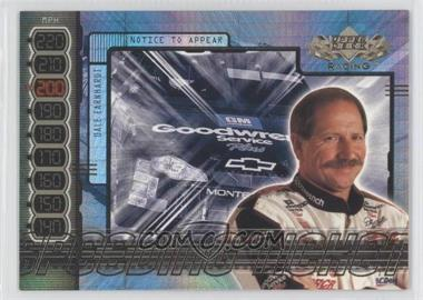2000 Upper Deck Speeding Ticket #ST5 - Dale Earnhardt