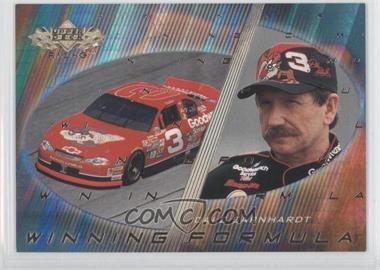 2000 Upper Deck Winning Formula #WF 3 - Dale Earnhardt