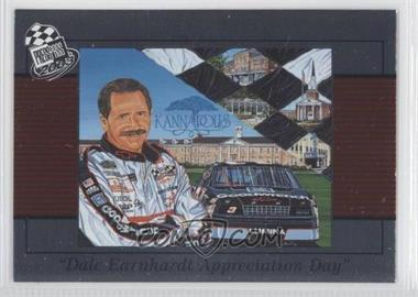 2001-03 Press Pass Multi-Product Insert Dale Earnhardt #DE100 - Dale Earnhardt