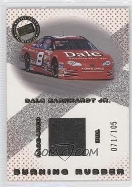 2001 Press Pass - Burning Rubber - Car #BRC 8 - Dale Earnhardt Jr. /105