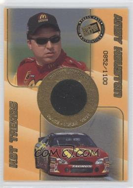 2001 Press Pass - Rookie Rubber #RR 4 - Andy Houston /1100