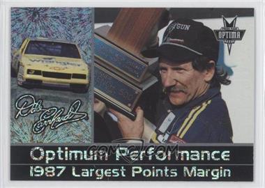 2001 Press Pass Optima Dale Earnhardt Optima Performance Celebration Foil #DE 24 - Dale Earnhardt /250