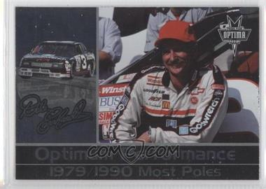 2001 Press Pass Optima Dale Earnhardt Optima Performance #DE 18 - Dale Earnhardt