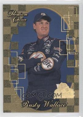 2001 Press Pass Premium Gold Holo #81 - Rusty Wallace
