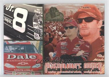 2001 Press Pass Premium Performance Driven #PD 2 - Dale Earnhardt Jr.