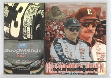 2001 Press Pass Premium Performance Driven #PD 3 - Dale Earnhardt