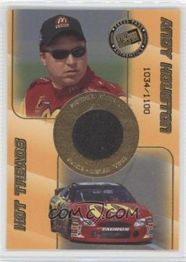 2001 Press Pass Rookie Rubber #RR 4 - Andy Houston /1100