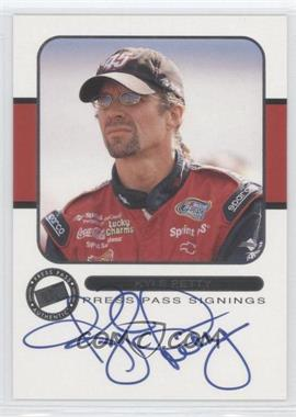 2001 Press Pass Signings #N/A - Kyle Petty