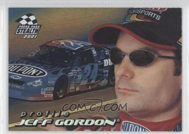 2001 Press Pass Stealth Profiles #PR 5 - Jeff Gordon