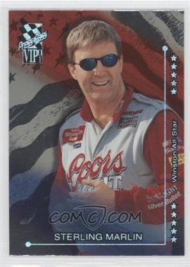 2001 Press Pass VIP - [Base] - Explosives #X40 - Sterling Marlin