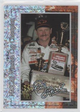 2001 Press Pass VIP - Dale Earnhardt - Celebration Foil #DE 7 - Dale Earnhardt /250