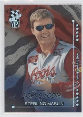 2001 Press Pass VIP [???] #X40 - Sterling Marlin
