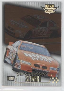2001 Wheels High Gear - [Base] - First Gear #27 - Tony Stewart