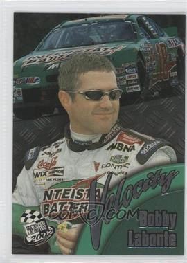 2002 Press Pass - Velocity #VL 6 - Bobby Labonte