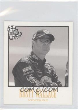 2002 Press Pass - Vintage #VN 25 - Rusty Wallace