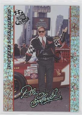 2002 Press Pass Dale Earnhardt By the Numbers Celebration Foil #DE 30 - Dale Earnhardt /250